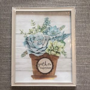 """NWT Urban outfitters """"Gather Together"""" wall print"""